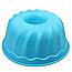 Силиконовая форма для кекса круглая с отверстием посередине 23 см, фото 2