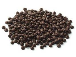 Шоколадные капли (дропсы) черные