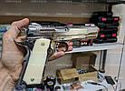 Стартовый пистолет Kuzey 911 (Chrome), фото 3