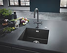 Grohe Мойка для кухни 457 x 406 мм, Granite Black (31653AP0), фото 3