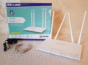 Маршрутизатор Wi-Fi Роутер двух каналах 2.4Ghz и 5Ghz LB-Link BL-W1210M