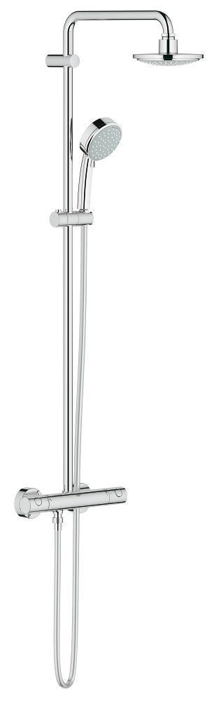 Grohe New Tempesta Cosmopolitan 160 Душевая система с термостатом для настенного монтажа (27922000)