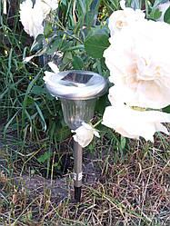 Газонный светильник (садово- парковый) на солнечной батарее Lemanso CAB 120