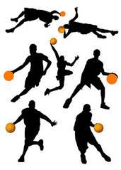 """Вафельна картинка """"Баскетболісти"""""""