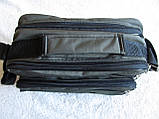 Мужская сумка через плечо прочная барсетка 8w2123 хаки 24х16х13см, фото 6