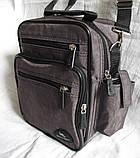 Мужская сумка через плечо барсетка 8w2665 хаки 20х25х16см, фото 2