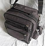 Мужская сумка через плечо барсетка 8w2665 хаки 20х25х16см, фото 3
