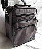 Мужская сумка через плечо барсетка 8w2665 хаки 20х25х16см, фото 5