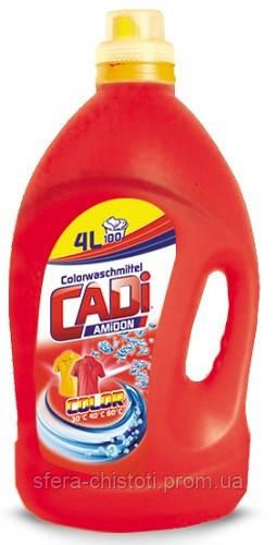 Гель для стирки цветного белья CADI COLOR 4 л