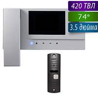 Commax CDV-35A+AVP-05 комплект домофона Черный