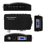 Конвертер BNC - VGA преобразователь аналогового видеосигнала Vbestlife BN-25, фото 4
