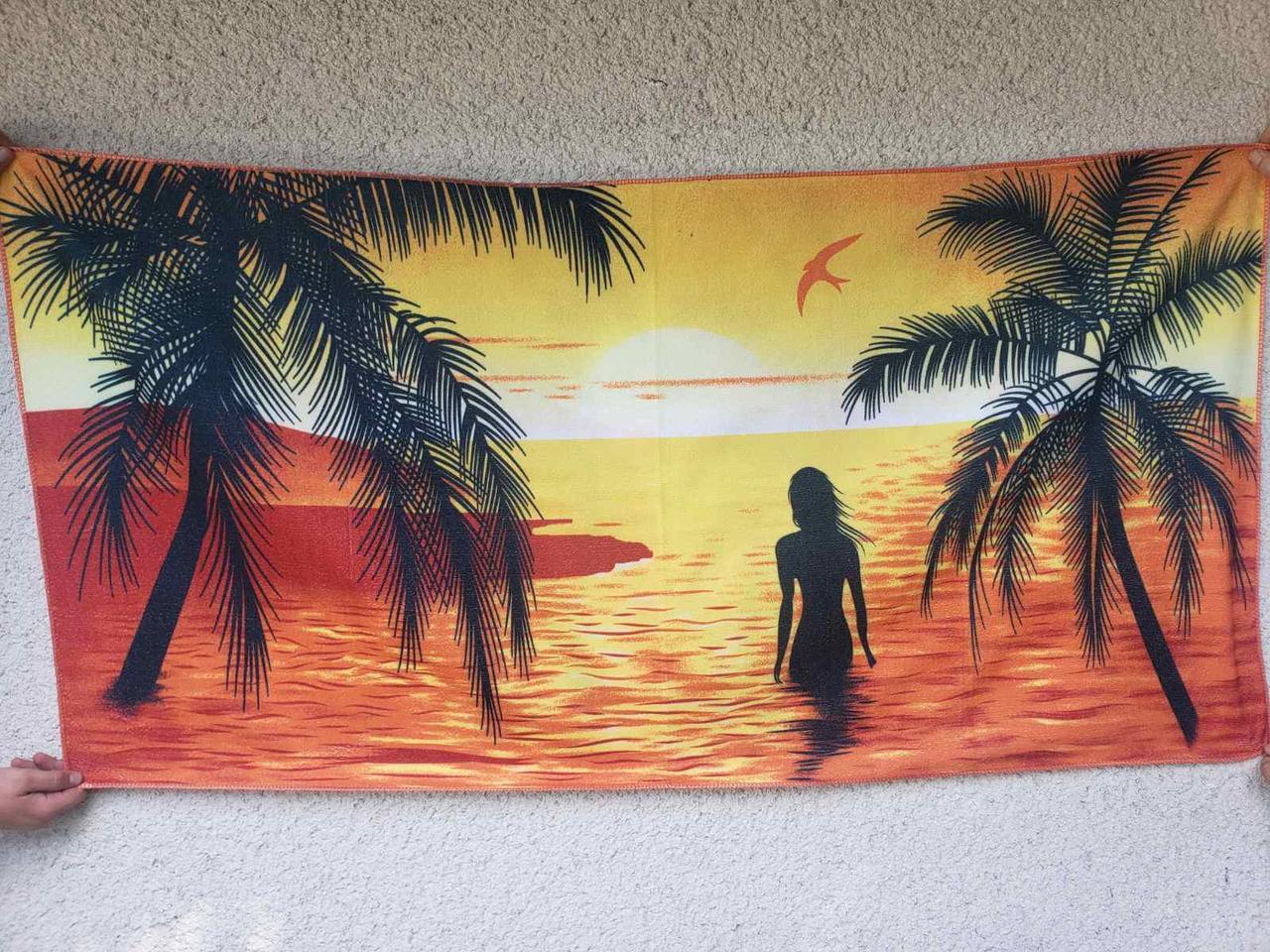 Пляжное полотенце 75*150