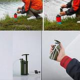 Походный фильтр для воды Gymtop SWF-2000, туристический, армейский, фото 6