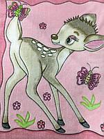 Велсофт панно оленёнок