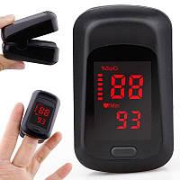 Пульсоксиметр на палец медицинский оксиметр - прибор для измерения сатурации кислорода в крови Yukui C3