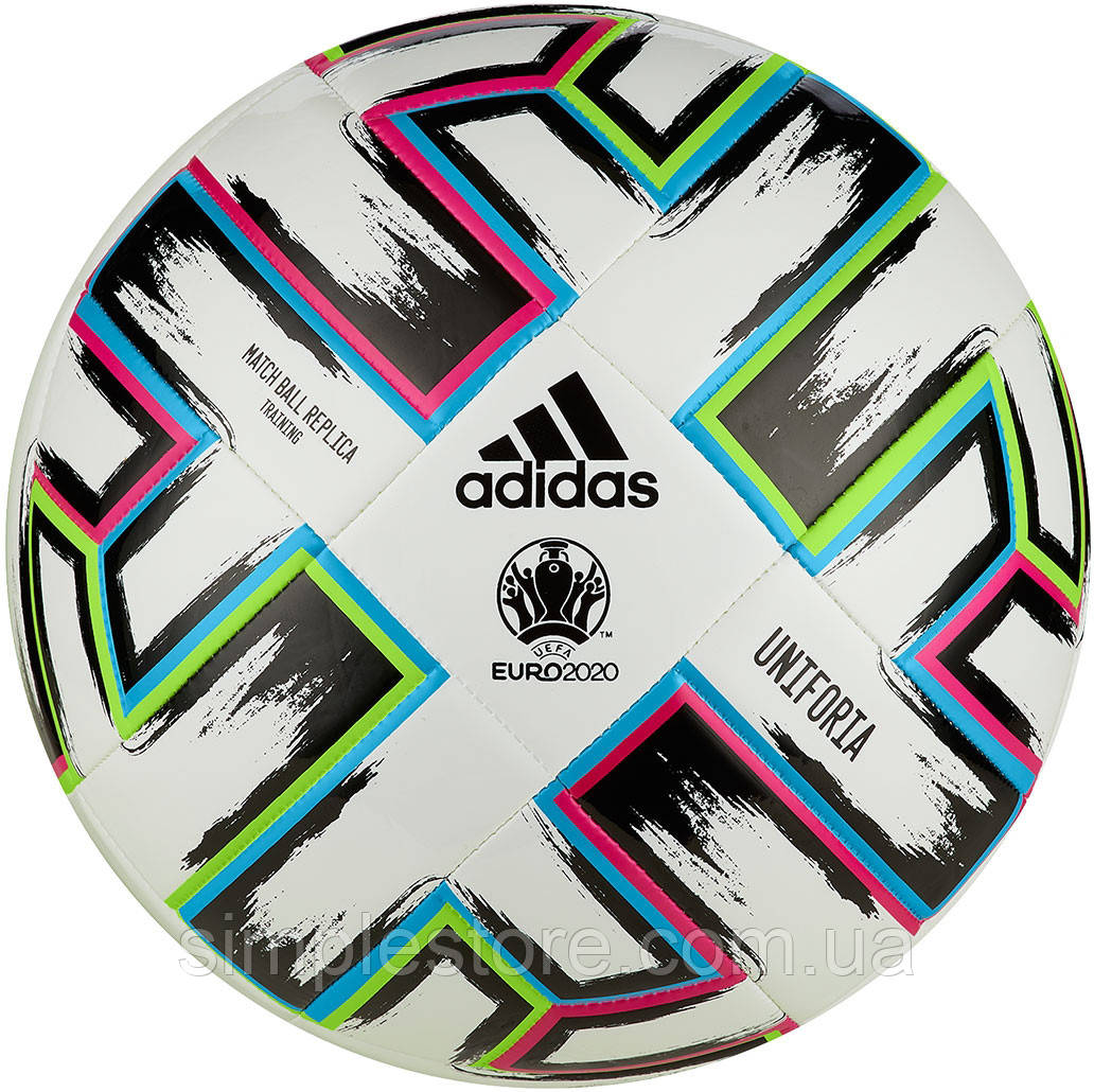 Мяч футбольный Adidas Uniforia Training FU1549 Size 5.  Мячи для командных игр
