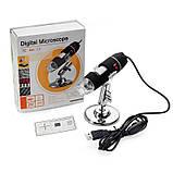USB мікроскоп електронний цифровий із збільшенням 1600 x Ootdty DM-1600, 2 Мп, 8 LED підсвічування, фото 6