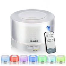 Настольный увлажнитель воздуха для комнаты с подсветкой Kbaybo L500, 7 цветов, 500 мл, пульт ДУ