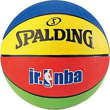 Мяч баскетбольный Spalding Jr. NBA/Rookie Gear Outdoor размер 5