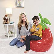 Надувное кресло BESTWAY клубника ананас баклажан 72см х 72см х 89 см