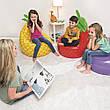 Надувное кресло BESTWAY клубника ананас баклажан 72см х 72см х 89 см, фото 6