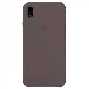 Silicone case Iphone XR Коричневый
