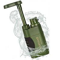 Походный фильтр для воды портативный туристический Purewell 5000L, с ресурсом 5000 литров