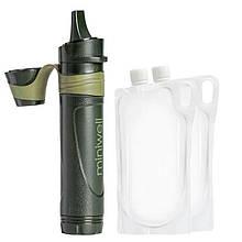 Профессиональный походный фильтр для воды туристический Miniwell L600, глубокой очистки