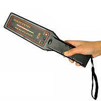 Ручной металлодетектор - досмотровый металлоискатель Goldcentry GC-1002 со шкалой уровня сигнала