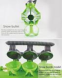 Снежный бластер (снежкомет, снежный пистолет) SnowBalls Gun для детей от 6 лет, фото 5
