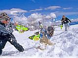Снежный бластер (снежкомет, снежный пистолет) SnowBalls Gun для детей от 6 лет, фото 6