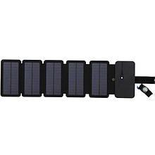Туристическая солнечная батарея - солнечная зарядка для телефона Kernuap 10W, 5В/1А