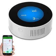 Умный датчик утечки газа WiFi с сиреной Yobang Security GS-85 wifi + Iphone&Android App