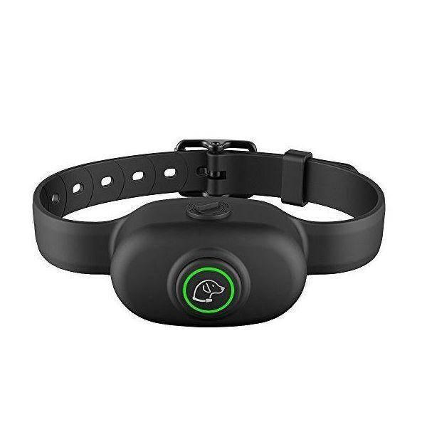 Электронный ошейник антилай для собак Pet Dog 300, водонепроницаемый, черный. Ошейник против лая