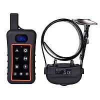 Электронный ошейник для дрессировки собак Trainertec DT1200 водонепроницаемый аккумуляторный до 1200 метров