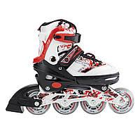 Роликовые коньки Nils Extreme NJ3012A Size 30-33 Red