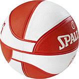 Мяч баскетбольный Spalding EL Team Olympiacos Piraeus размер 7, фото 2