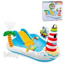 Ігровий центр дитячий надувний басейн Intex 57162