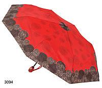 Зонт женский автомат красный, фото 1