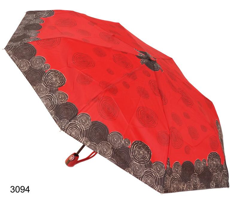Зонт женский автомат красный