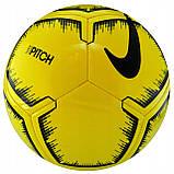 Мяч футбольный Nike Pitch SC3316-731 размер 5, фото 3