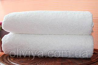 Простирадло махрова 100% бавовна біла, фото 2