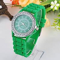 Часы женские Geneva Crystal green