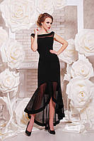 Элегантное нарядное вечернее платье в пол