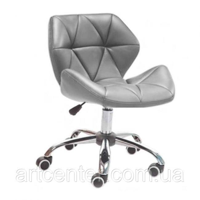 Кресло для мастера, кресло серое (СТАР НЬЮ)
