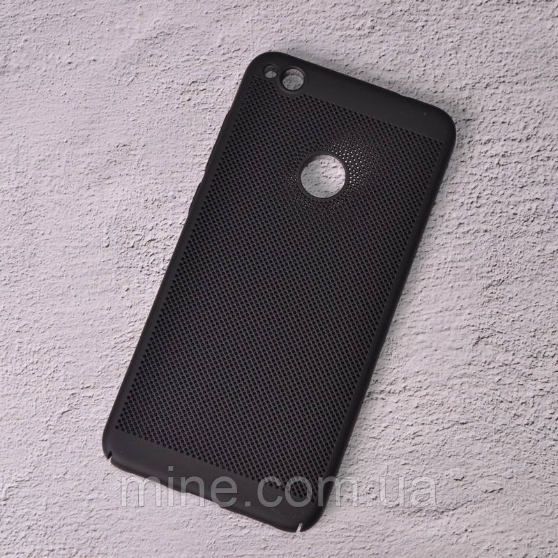 Чехол накладка Loco для Huawei P8 Lite 2017 black