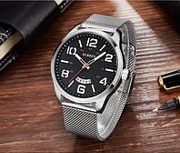 Часы мужские Curren LeRoy silver-black