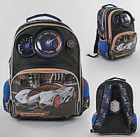 Рюкзак детский школьный Панель-спидометр С 43629 с 2 карманами, мягкой спинкой и принтом