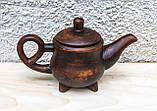 Чайник 1,5 л. з червоної глини, фото 2