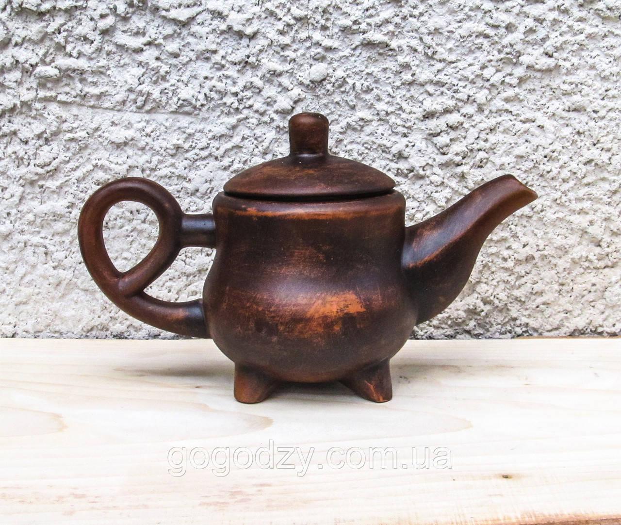 Чайник 1,5 л. з червоної глини